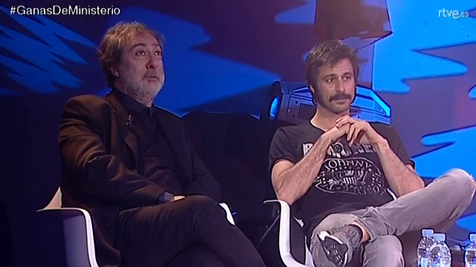 La puerta del tiempo - Mira el videoencuentro con Hugo Silva y Javier Olivares
