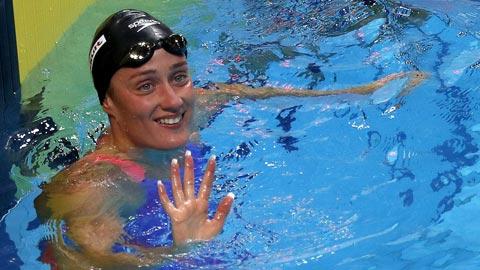 Mireia Belmonte logra la plata en los 1.500 (prueba completa)