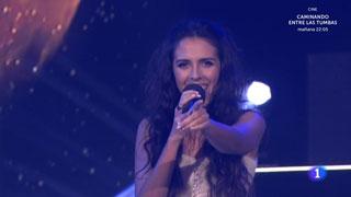"""Objetivo Eurovisión- Mirela canta """"Contigo"""""""