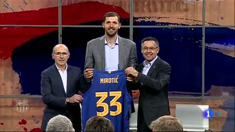 Ir al VideoMirotic, presentado por el Barça