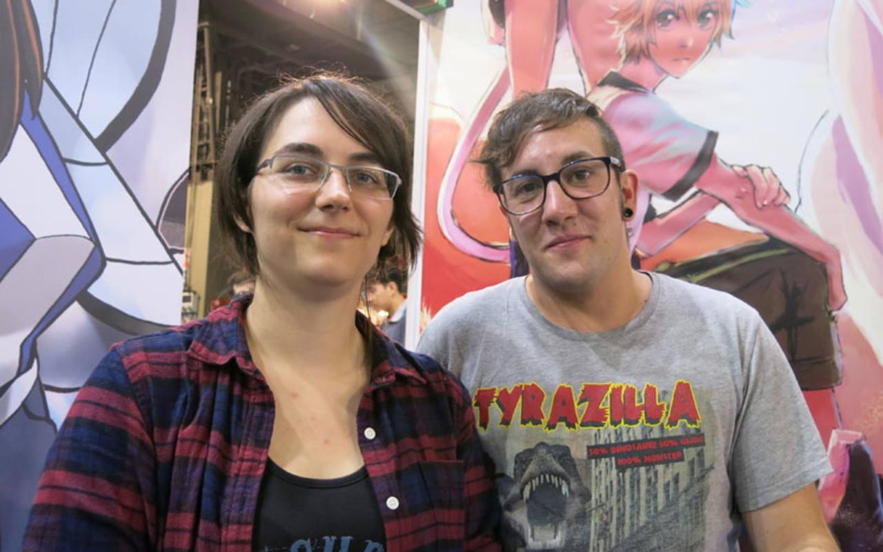 Misha y Marta, autores de 'A través del Khamsin'