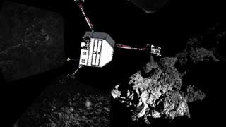 El módulo 'Philae' solo tiene una hora y media de luz al día y sus baterías se agotan