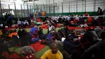 Ir al VideoLa mitad de los inmigrantes que llegaron a Tarifa se encuentran ya en centros de internamiento