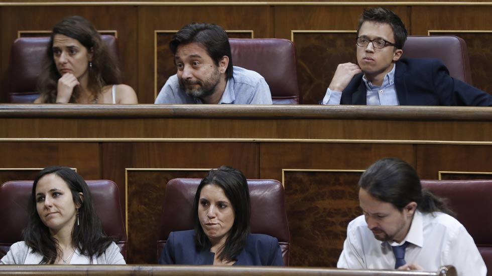 La moción de censura de Podemos fracasa en el Congreso de los Diputados