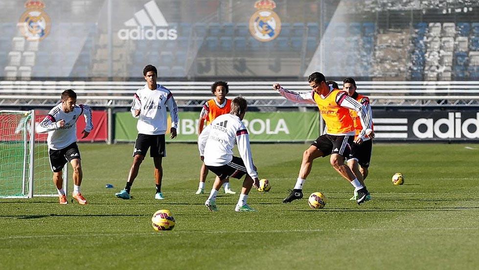 Modric acude al entrenamiento del Real Madrid