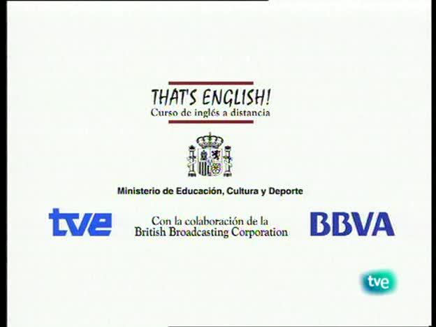 That's English - Establecer contacto social 1