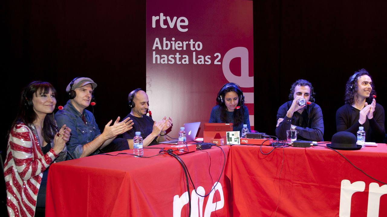 Un momento del programa desde los Teatros Luchana de Madrid
