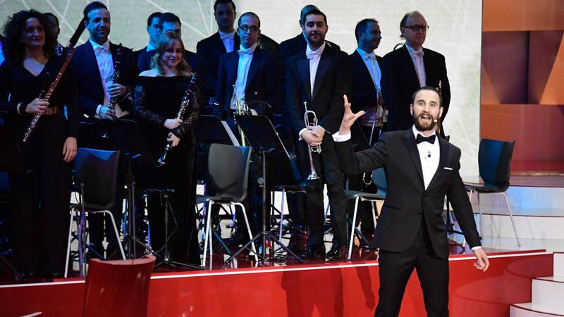 Un momento de la gala de los XXXI Premios Goya, con Dani Rovira de presentador.