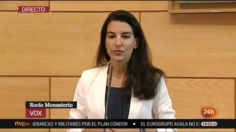 Ir al VideoMonasterio confirma su 'no' a la investidura de Díaz Ayuso en la Comunidad de Madrid