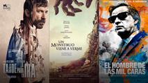 'Un monstruo viene a verme', 'Tarde para la ira' y 'El hombre de las mil caras', las favoritas para los Goya 2017