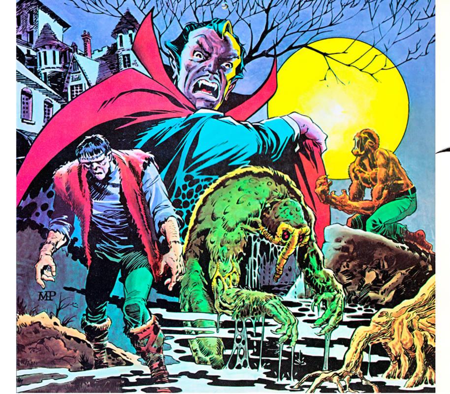 Los monstruos de Marvel de los 70 vistos por MIke Ploog