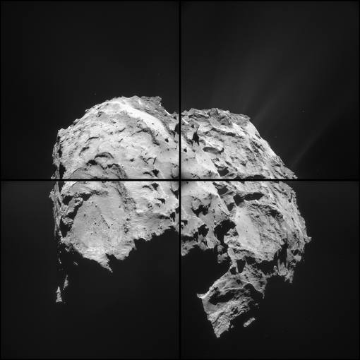 El cometa de la misión Rosetta podría flotar en el agua