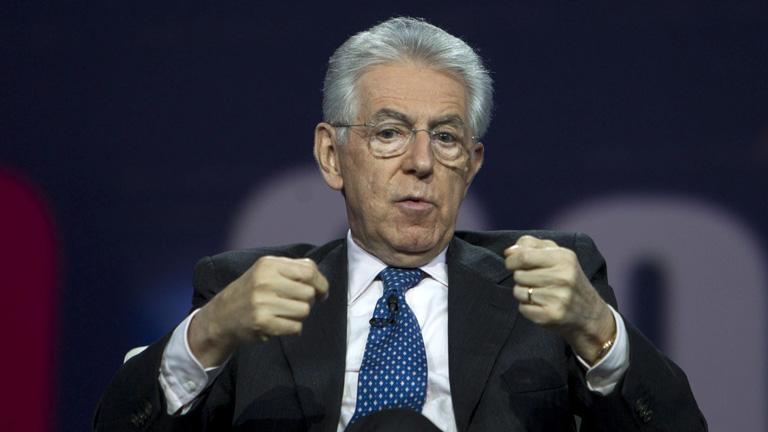Las últimas declaraciones de Monti sobre el trabajo temporal desatan la polémica en Italia