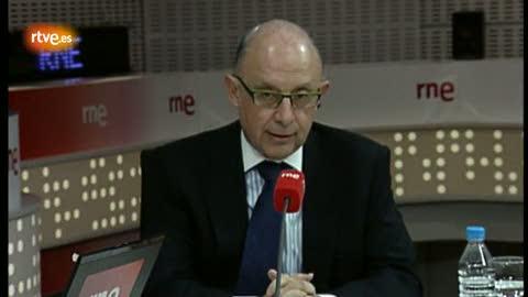 """Montoro: """"RTVE no tiene que competir con las privadas"""""""