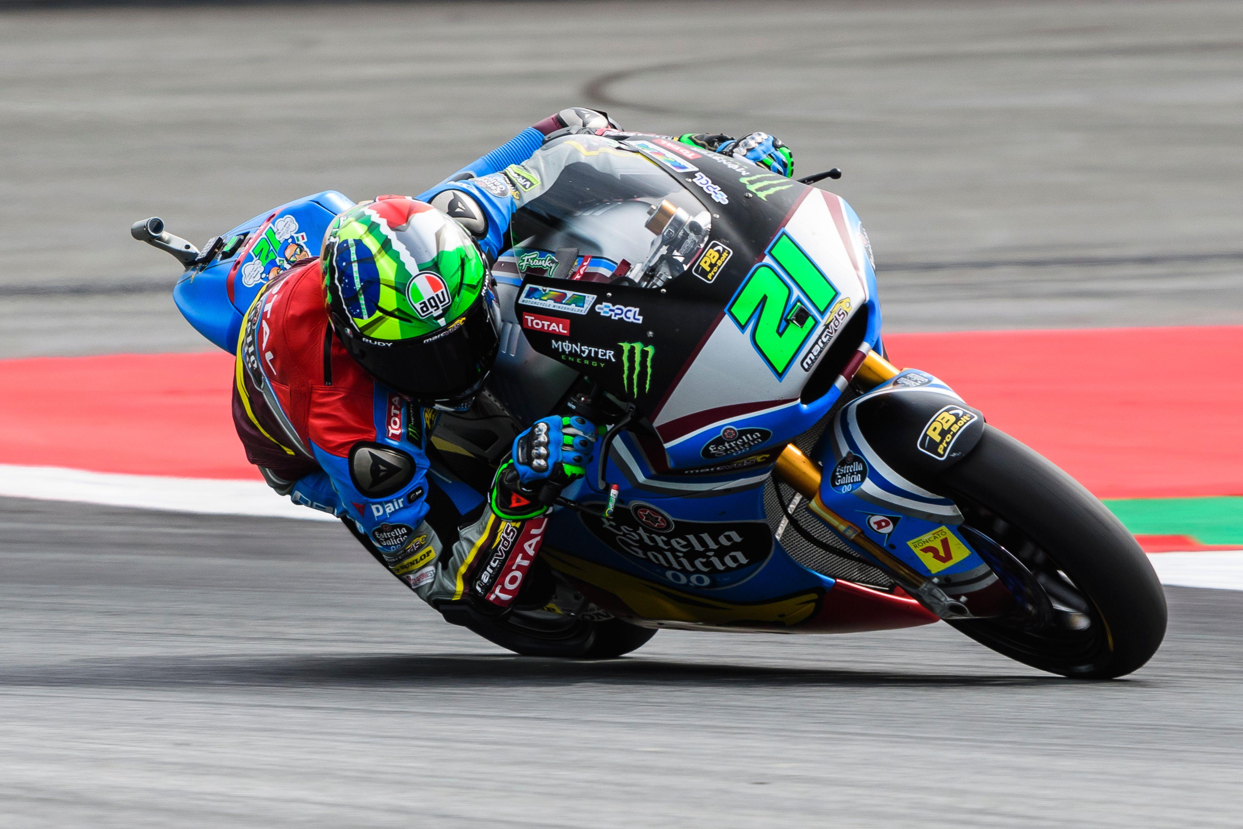 Morbidelli sigue reinando en Moto2
