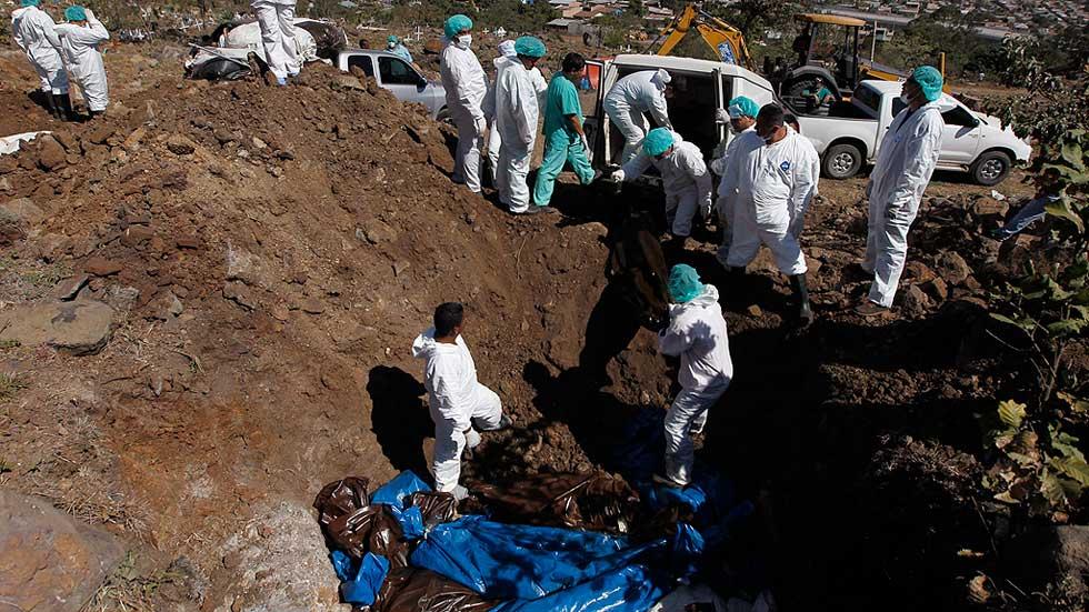 Decenas de cadáveres en Honduras se entierran cada año en fosas comunes