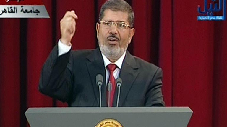Mohamed Morsi ya es presidente de Egipto