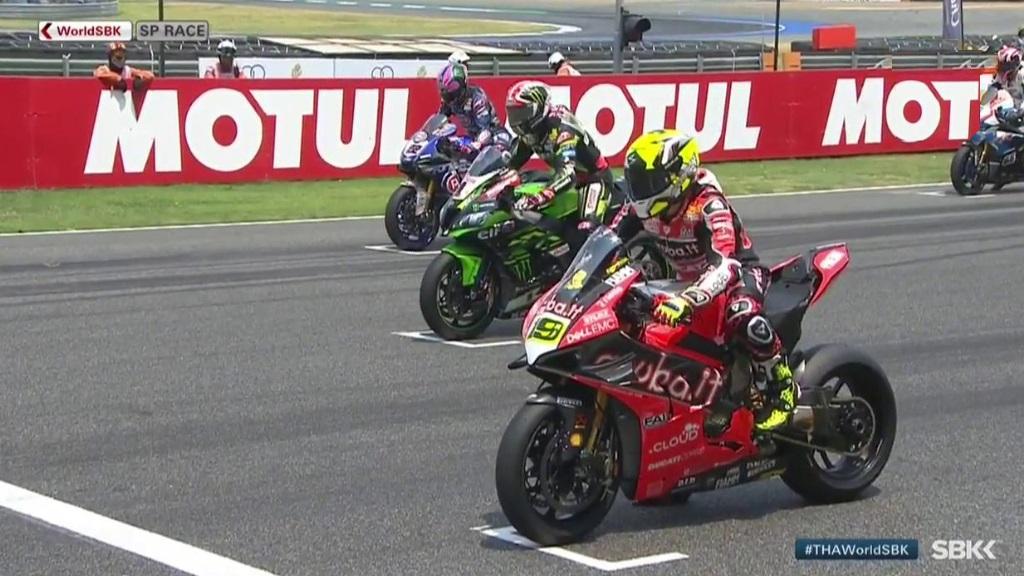 Motociclismo - Campeonato del Mundo Superbike 2019. WSBK Superpole Race prueba Tailandia