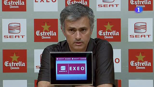 Mou satisfecho con la evolución del Madrid