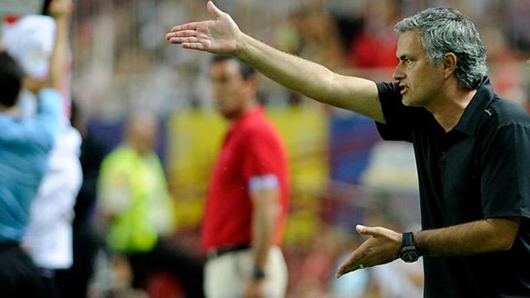Mourinho, muy crítico con el Real Madrid tras perder en Sevilla
