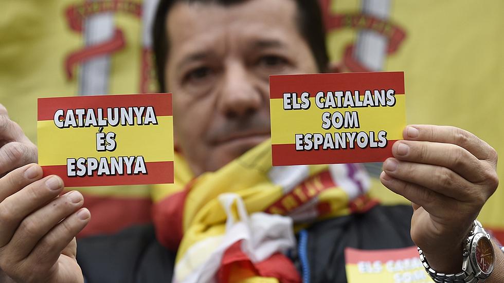 Movilizaciones frente a varios ayuntamientos españoles en contra del 9N