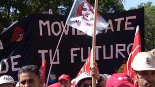 Mineros de toda España piden al Gobierno que no rebaje las ayudas al sector