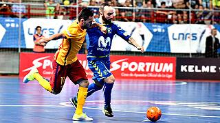 Movistar Inter reacciona a tiempo y golea al Barça (6-2) en el primer duelo