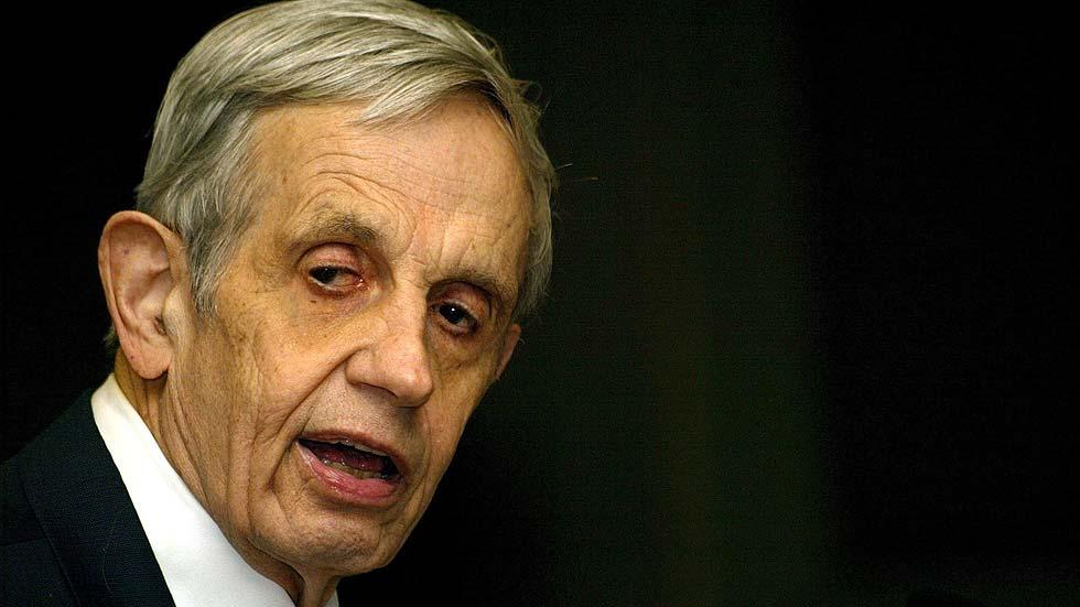 Muere en accidente de tráfico el matemático y premio Nobel John Nash