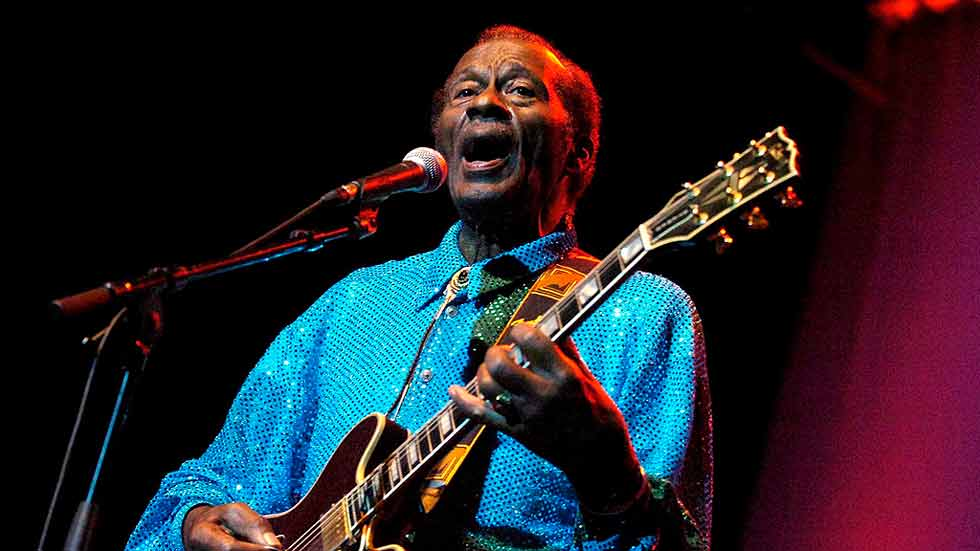 Muere Chuck Berry, la gran leyenda del rock and roll