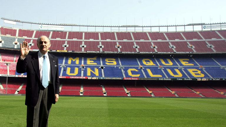 Muere Gustau Biosca, defensa del Barça de las 'Cinco Copas', a los 86 años