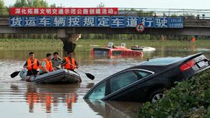 Mueren 37 personas en Pekin debido a las peores lluvias en seis décadas