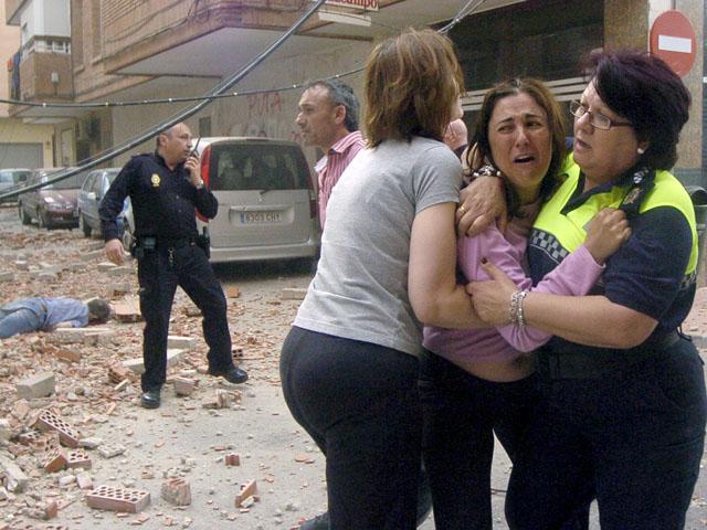 Ver vídeo  'Mueren ocho personas en Lorca, sumida en la desolación tras un doble terremoto'