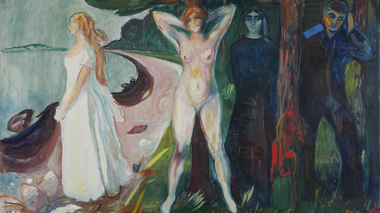 'Mujer' (1925).Edvard Munch.