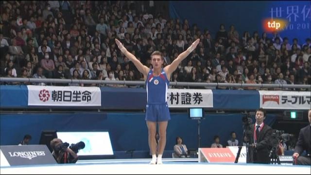 Gimnasia artística - Campeonato del mundo. Equipos masculino - Segunda parte - 12/10/11