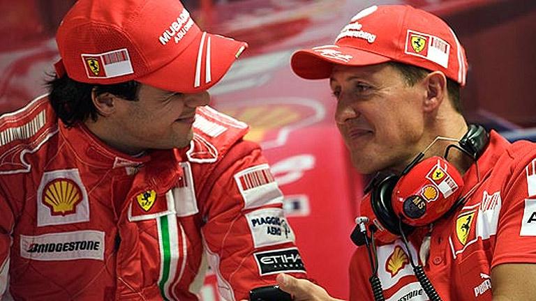 El mundo del deporte, en vilo por Schumacher