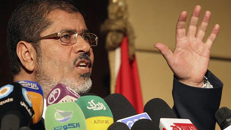 Mursi, primer presidente elegido en Egipto tras la caída de Mubarak