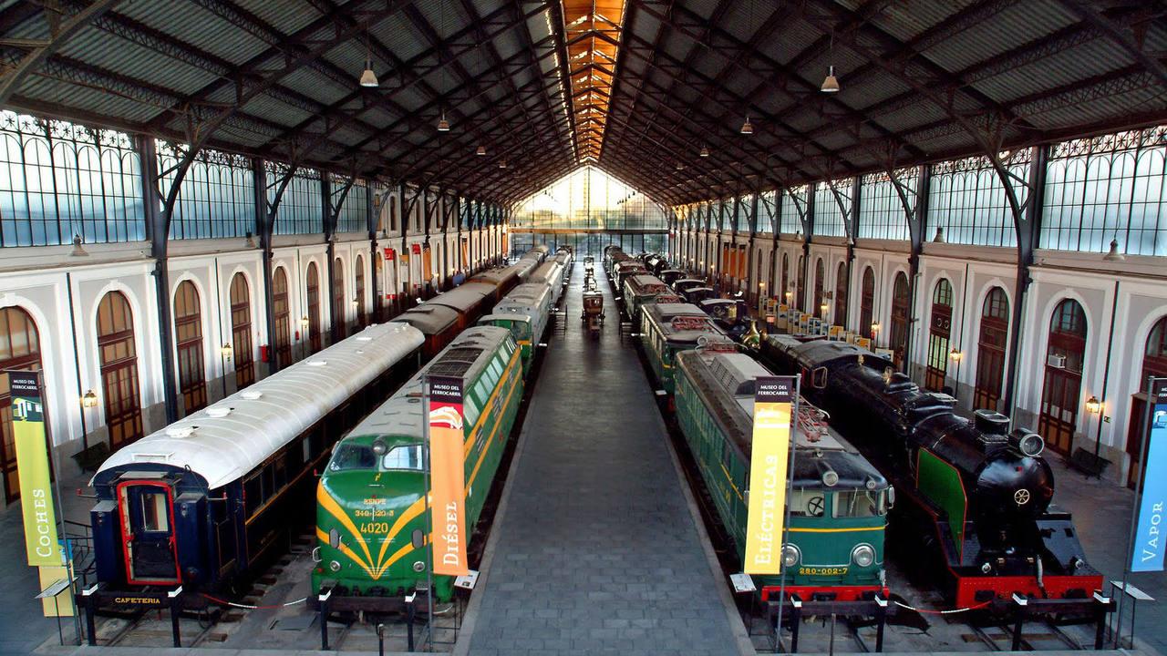El Museo del Ferrocarril de Madrid custodia la historia del ferrocarril español desde sus orígenes