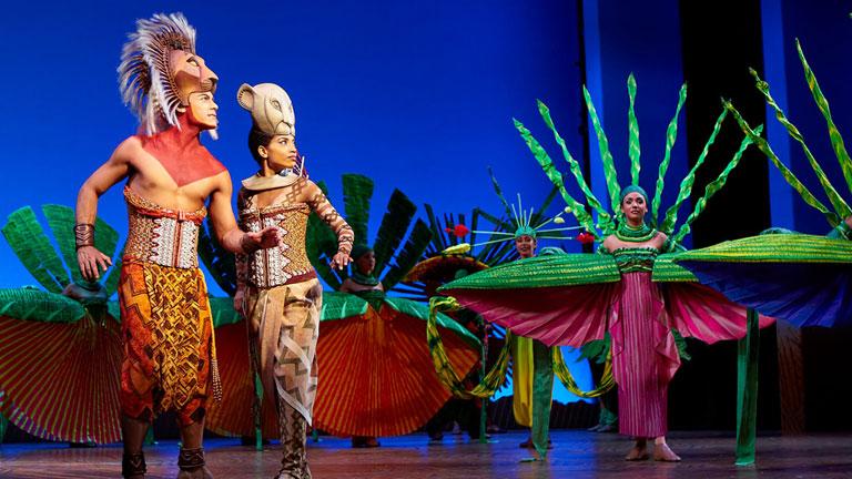 """El musical """"El rey león"""" cumple tres años en la Gran Via madrileña"""