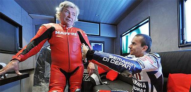 Jorge Lorenzo y Ángel Nieto, invitados de lujo del TT Isla de Man.