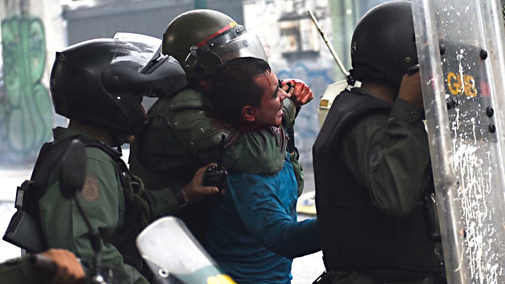 Naciones Unidad acusa a las fuerzas de seguridad venezolanas de 'tortura' y  'maltrato generalizado' a los manifestantes