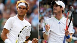 Nadal afronta Wimbledon en el cuadro de Murray