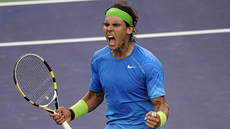 Nadal remonta a Nabaldian para enfrentarse a Federer