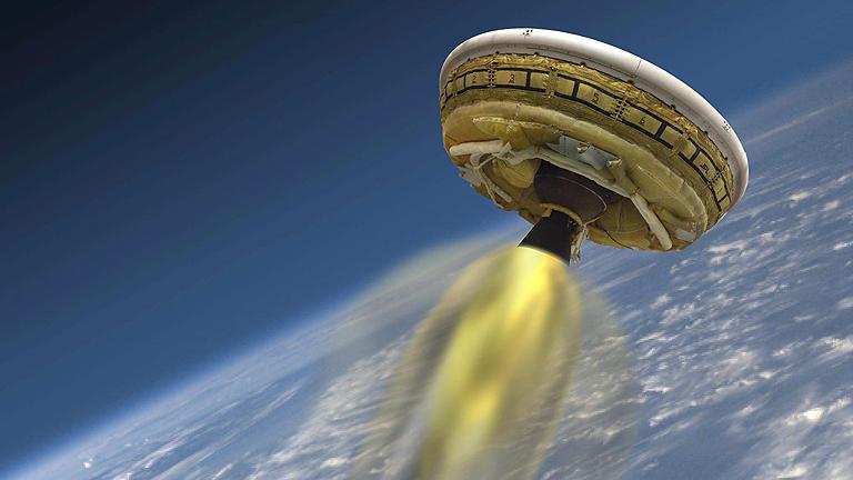 La NASA ensaya el aterrizaje en Marte