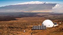 Ir al VideoLa NASA ensaya en Hawái la vida en Marte