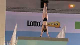 Natación - Campeonato de Europa - Final saltos 10 M femenino