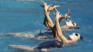 La natación sincronizada española sueña con el oro
