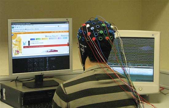 Navegar por internet con el cerebro
