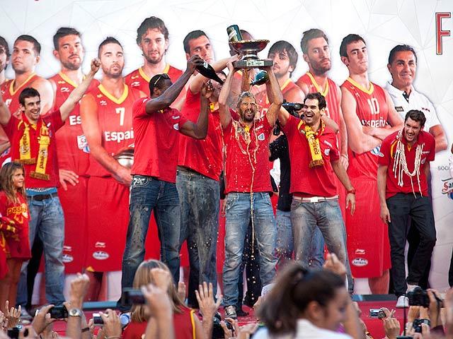 La 'ÑBA' celebra su triunfo en Madrid