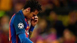 Neymar no jugará el Clásico