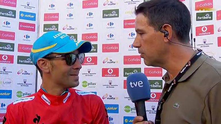 """Nibali: """"Con el paso de las horas fui mejorando de la picadura"""""""